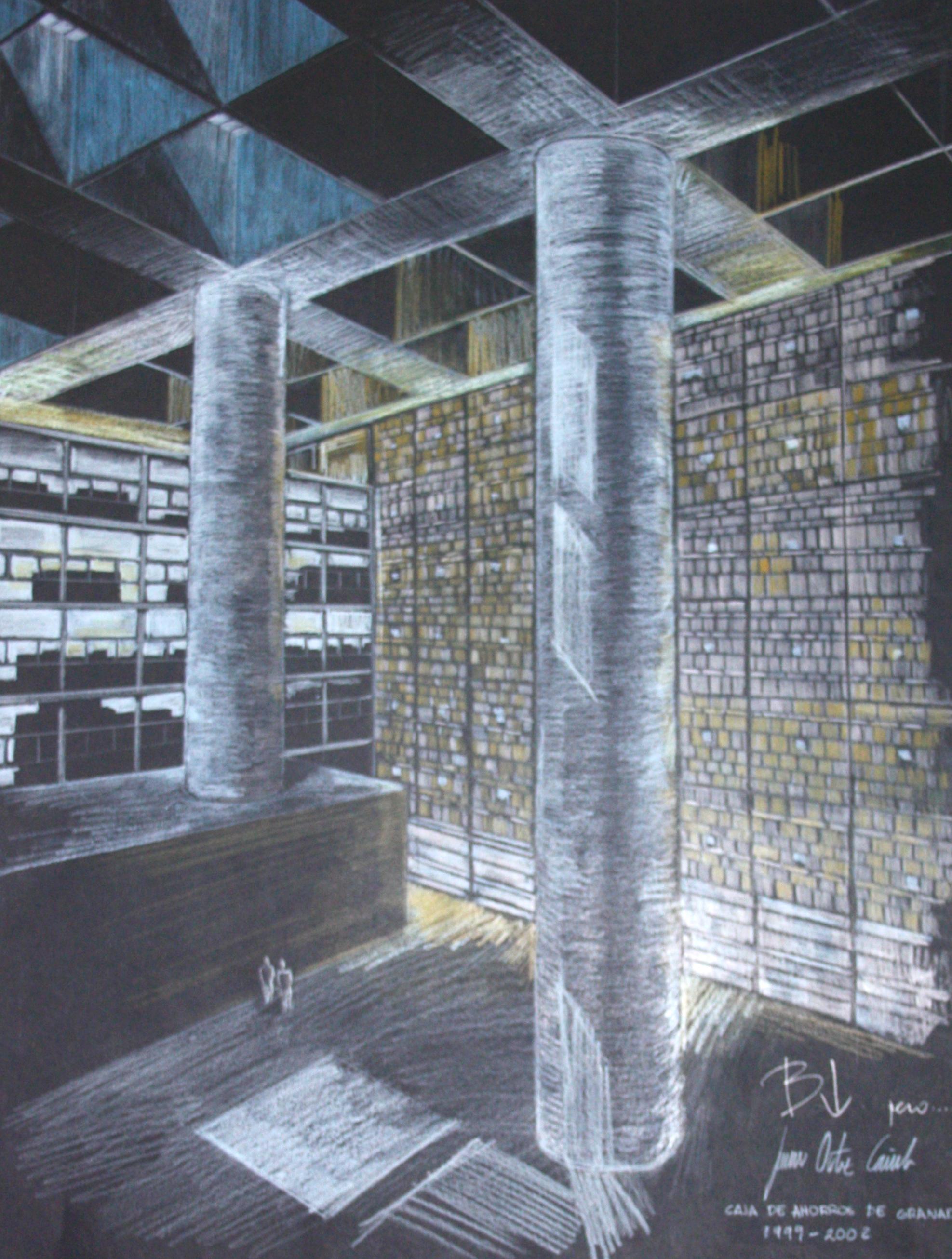 Caja Granada Campo Baeza da. caja granada – análisis de formas