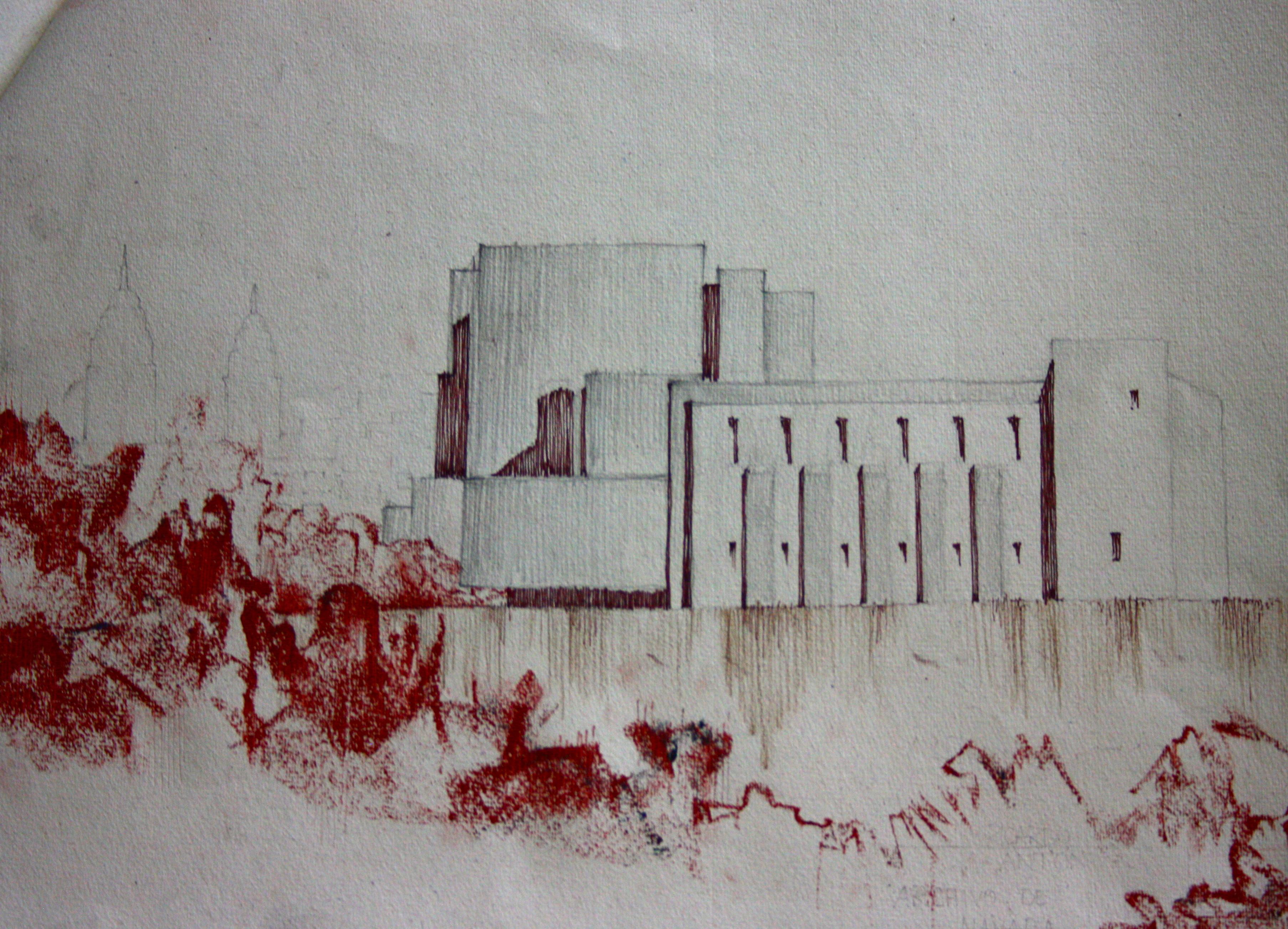 Dibujando en Pamplona – Análisis de Formas